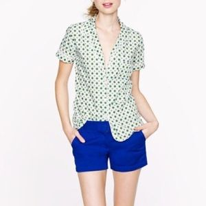 NWT J.Crew Blue Chino Shorts